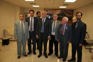 Το Δ.Σ. του ΣΕΑΝ ΑΝ. ΑΤΤΙΚΗΣ με τον Υπουργό Εθνικής Άμυνας κ.Σπηλιοτόπουλο.